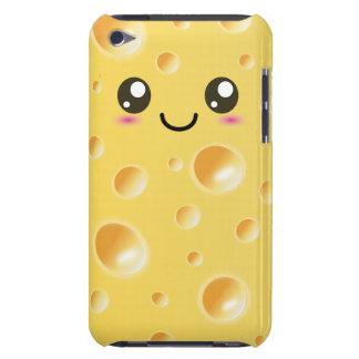 Rebanada feliz linda del queso de Kawaii iPod Touch Protectores