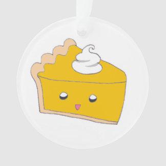 Rebanada linda del pastel de calabaza