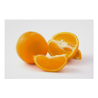 Rebanada que vigoriza de posters de los naranjas d
