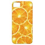 Rebanadas anaranjadas iPhone 5 protectores
