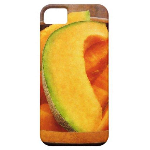 Rebanadas de cantalupo funda para iPhone 5 barely there
