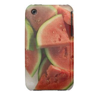 Rebanadas de sandía iPhone 3 Case-Mate cárcasa