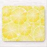 Rebanadas del limón alfombrilla de raton