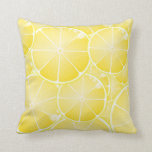 Rebanadas del limón almohada