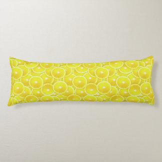 Rebanadas del limón cojin cama