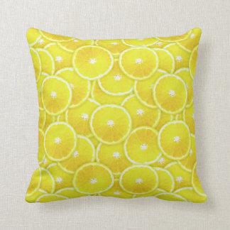 Rebanadas del limón cojín