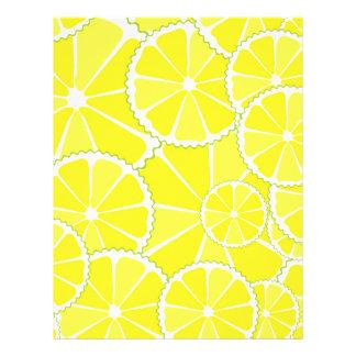 """Rebanadas del limón folleto 8.5"""" x 11"""""""