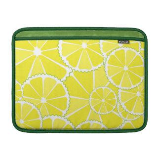 Rebanadas del limón funda para macbook air