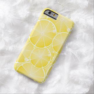 Rebanadas del limón funda para iPhone 6 barely there