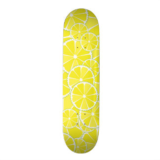 "Rebanadas del limón patineta 7 3/8"""
