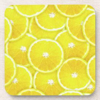 Rebanadas del limón posavasos