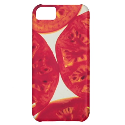Rebanadas del tomate funda para iPhone 5C
