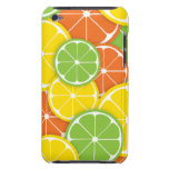Rebanadas redondas jugosas del naranja de la cal d iPod Case-Mate coberturas