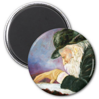 Rebbe 2 Inch Round Magnet