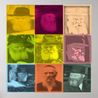 Rebbe Art Poster