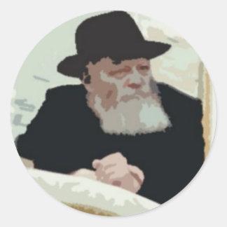Rebbe Classic Round Sticker