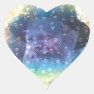 Rebbe Heart Sticker