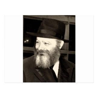 Rebbe Menachem Mendel Schneersohn Postcard