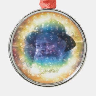 Rebbe Metal Ornament
