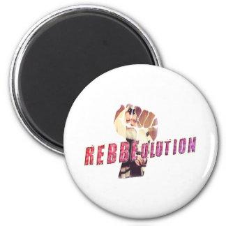 Rebbe Revolution 2 Inch Round Magnet
