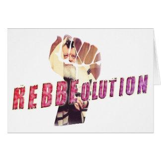 Rebbe Revolution Card
