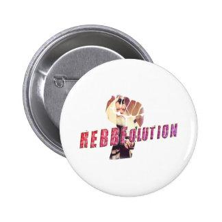 Rebbe Revolution Pinback Button
