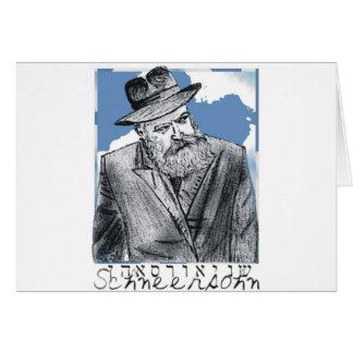 Rebbe Schneersohn Card