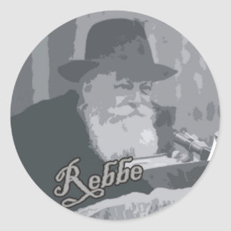 Rebbe Schneersohn Classic Round Sticker