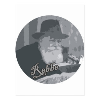 Rebbe Schneersohn Postcard