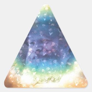 Rebbe Triangle Sticker