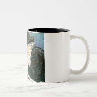 Rebbe Two-Tone Coffee Mug