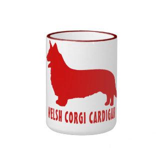 Rebeca del Corgi Galés Tazas De Café