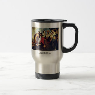 Rebecca And Eliezer 15 Oz Stainless Steel Travel Mug
