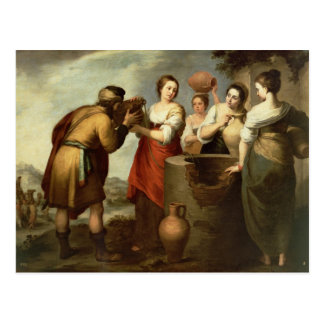 Rebecca and Eliezer at the Well, c.1665 Postcard