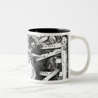 Rebecca and her Daughters Two-Tone Coffee Mug