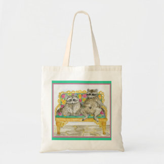 Rebecca and Horace Pet Portrait Tote Bags