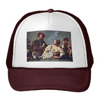 Rebecca At The Well By Piazzetta Giovanni Battista Hat