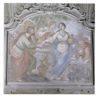 Rebecca at the Well, from the Refectory, 1753-54 ( Ceramic Tile