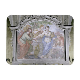 Rebecca at the Well from the Refectory 1753-54 Rectangular Magnets