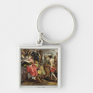 Rebecca Bidding Farewell to her Family, c.1562 Keychain
