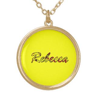 Rebecca Colgante Redondo
