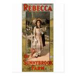 Rebecca de la adaptación 1911 de la etapa de la gr postal