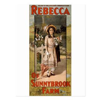 Rebecca de la adaptación 1911 de la etapa de la tarjetas postales
