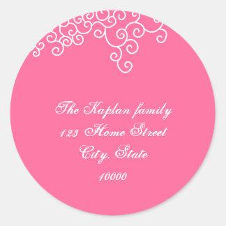"Rebecca F69 Return Address 1.5"" Envelope Seal"
