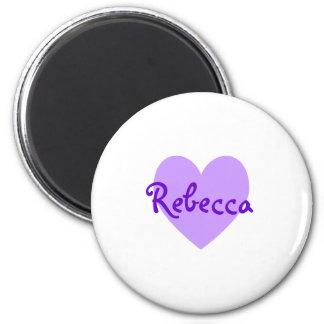 Rebecca in Purple Magnets