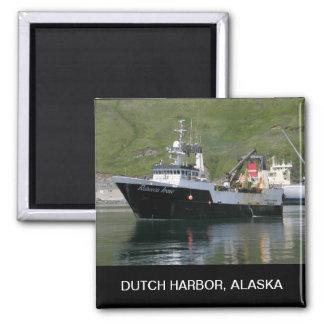 Rebecca Irene, Factory Trawler in Dutch Harbor, AK Magnet