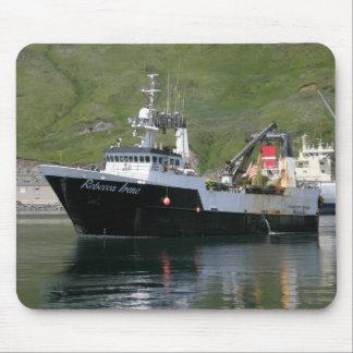Rebecca Irene, Factory Trawler in Dutch Harbor, AK Mouse Pad