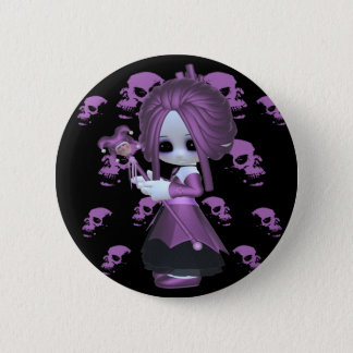 Rebecca Little Gothic Button
