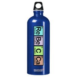 SIGG Traveller Water Bottle (0.6L) with Rebecca made of Elements design