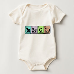 Rebecca made of Elements Infant Organic Creeper